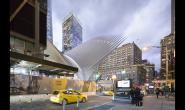 世界最贵的车站 纽约世易中心交通枢纽
